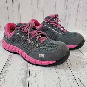 Cat Exact St Womens Ergo Work Steel Toe Sneakers